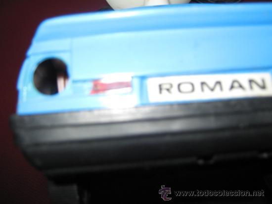Juguetes antiguos Román: COCHE DE POLICIA DE JUGUETES ROMAN FUNCIONANDO - ALGUN DEFECTO - VER FOTOS - Foto 4 - 32821751