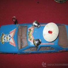 Altes Spielzeug Román - COCHE DE POLICIA DE JUGUETES ROMAN FUNCIONANDO - ALGUN DEFECTO - VER FOTOS - 32821751