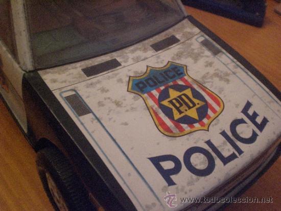 Juguetes antiguos Román: COCHE DE POLICIA SALVA OBSTACULOS - Foto 2 - 33375138