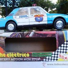 Altes Spielzeug Román - coche de policia salva obstáculos román - 34863167