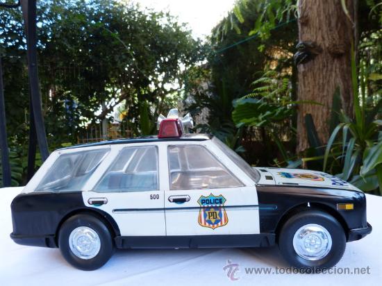 Juguetes antiguos Román: coche de policia román 36 cm salvaobstáculos - Foto 7 - 34863795