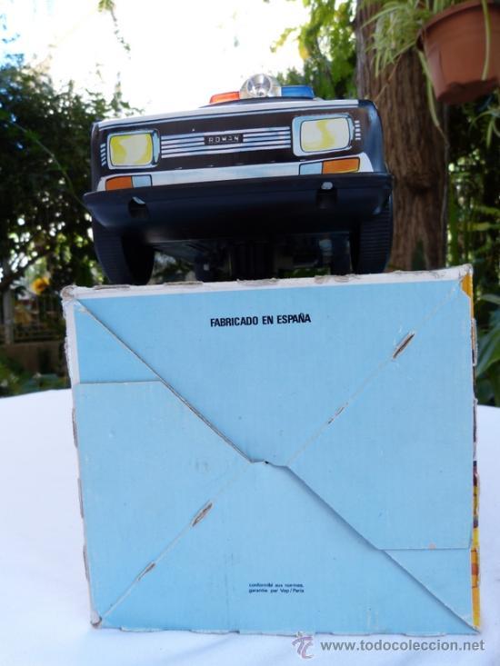 Juguetes antiguos Román: coche de policia román 36 cm salvaobstáculos - Foto 8 - 34863795
