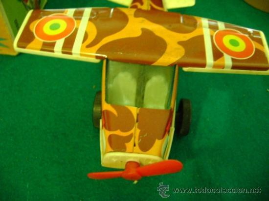 Juguetes antiguos Román: Avión a fricción Román serie 150 V-153 - Foto 2 - 35627145