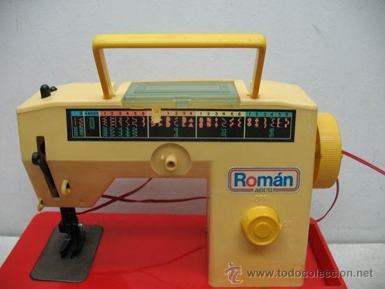 Juguetes antiguos Román: ROMAN,MAQUINA DE COSER,CON LUZ - Foto 3 - 38443423