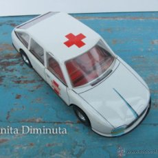 Juguetes antiguos Román: ANTIGUO CITROEN AMBULANCIA DE ROMAN - HOSPITAL GENERAL - DE HOJALATA - FRICCION -. Lote 40389803