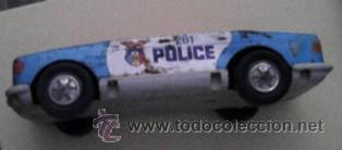 Juguetes antiguos Román: Coche Police Román. -Faltan partes - Foto 3 - 43514462