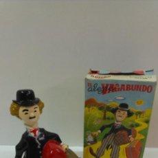 Juguetes antiguos Román: EL ALEGRE VAGABUNDO . MARCA ROMAN. FUNCIONAMIENTO CUERDA. CAJA ORIGINAL. Lote 43935768
