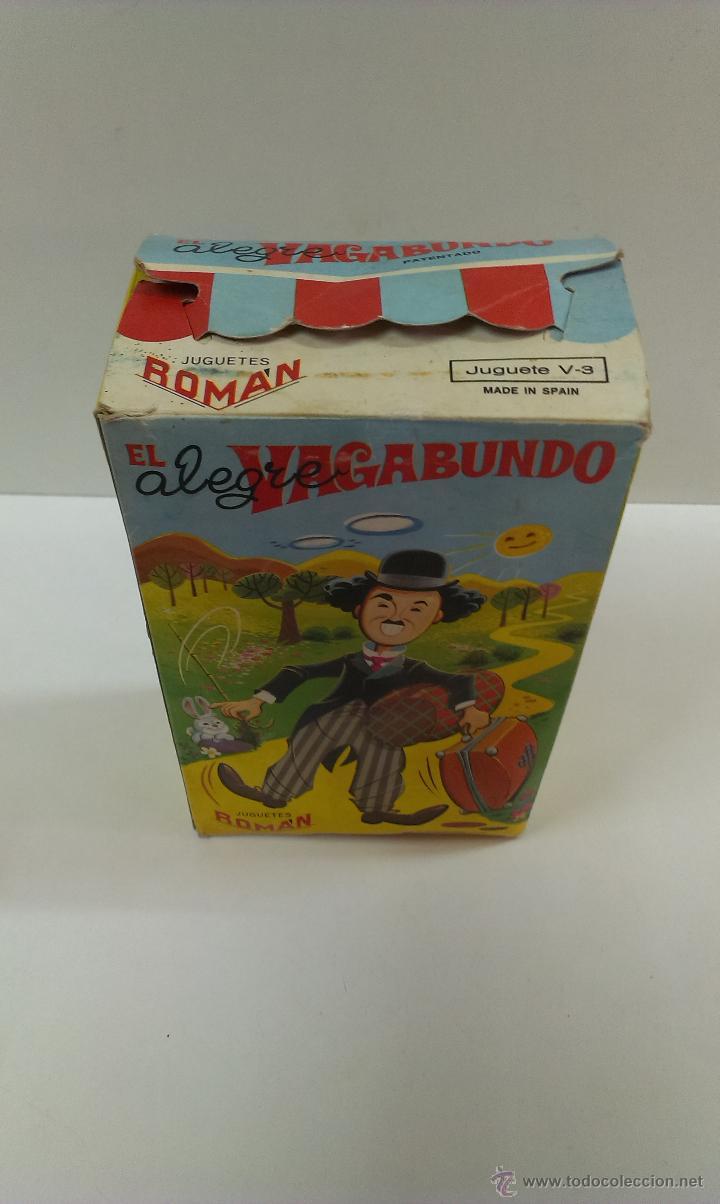 Juguetes antiguos Román: EL ALEGRE VAGABUNDO . MARCA ROMAN. FUNCIONAMIENTO CUERDA. CAJA ORIGINAL - Foto 10 - 43935768