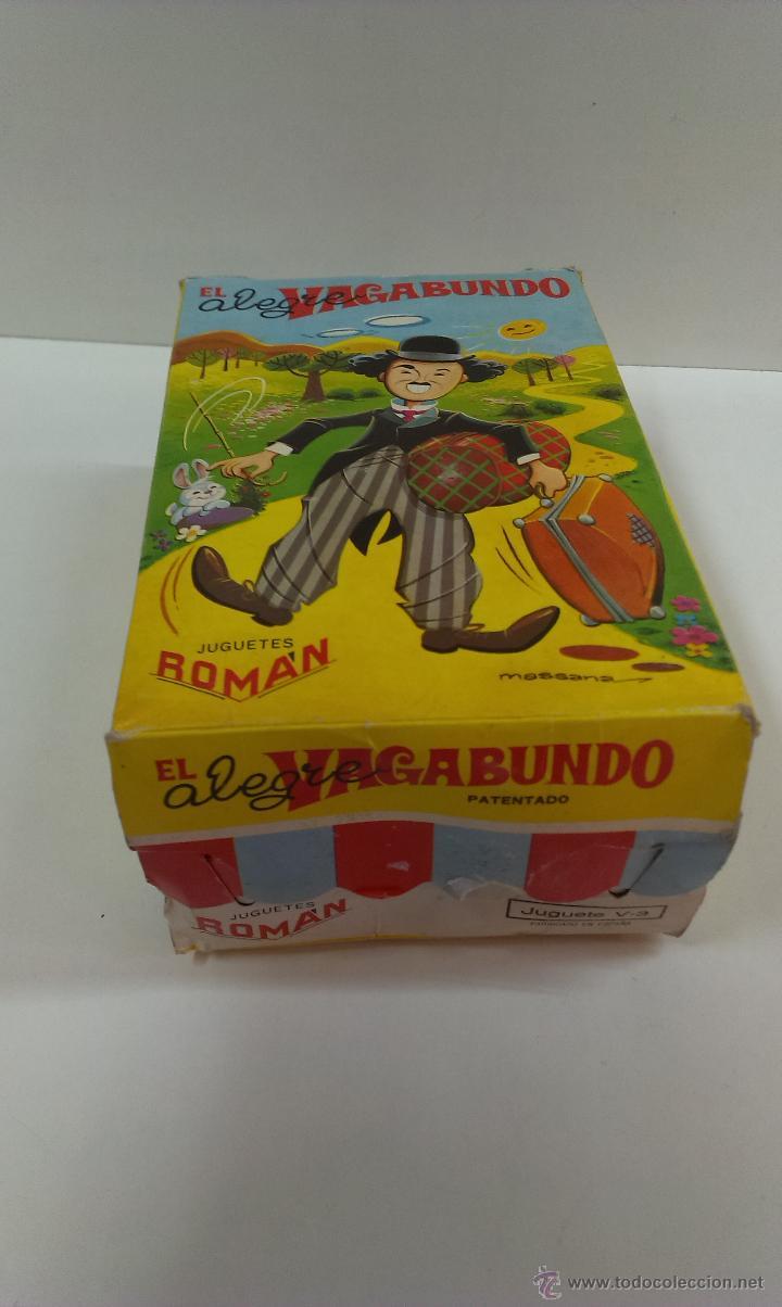 Juguetes antiguos Román: EL ALEGRE VAGABUNDO . MARCA ROMAN. FUNCIONAMIENTO CUERDA. CAJA ORIGINAL - Foto 14 - 43935768