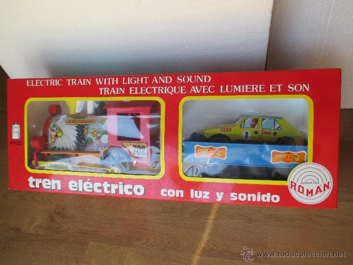 TREN ELECTRICO ROMAN (Juguetes - Marcas Clásicas - Román)