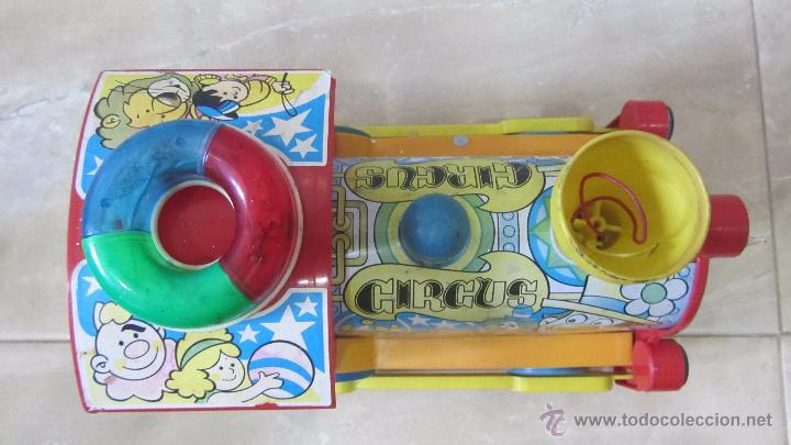 Juguetes antiguos Román: TREN CIRCUS de ROMAN - Foto 6 - 51140441