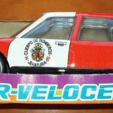 Altes Spielzeug Román - Coche de Bomberos de hojalata, friccion. Marca Roman serie 200. Años 80 - 52946324