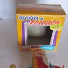Juguetes antiguos Román: AVION A FRICCION ROMAN, IBERIA V-155, EN CAJA. CC. Lote 57964249