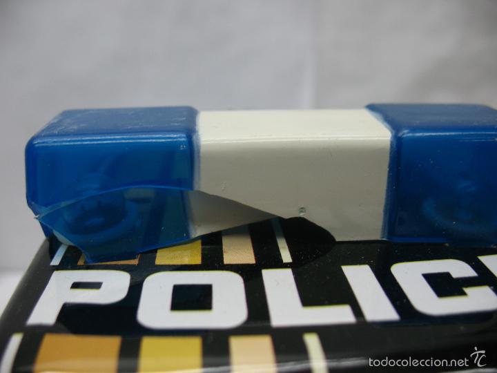 Juguetes antiguos Román: ROMAN Ref: 4350 - Coche de policía de plástico con mecanismo a pilas - Foto 4 - 57971166