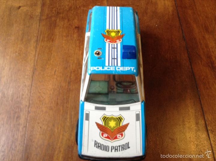 Juguetes antiguos Román: Coche radio patrol police department. Juguetes Roman - Foto 2 - 61201577