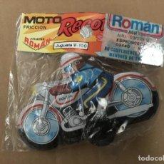 Juguetes antiguos Román: MOTO ROMAN TAMAÑO PEQUEÑO. Lote 116282594