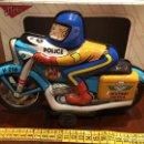 Juguetes antiguos Román: MOTO ROMAN HIGHWAY PATROL POLICE A FRICCIÓN . Lote 67132517