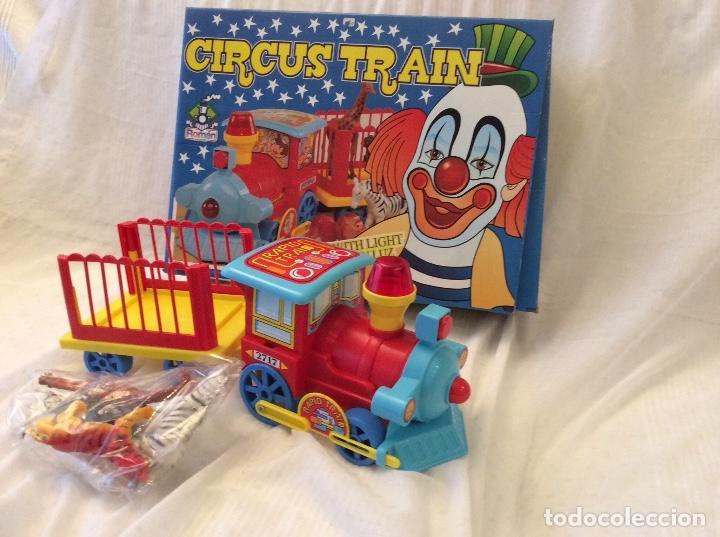 Juguetes antiguos Román: Circus Train . Tren de juguetes Roman ,No funciona - Foto 2 - 80673650