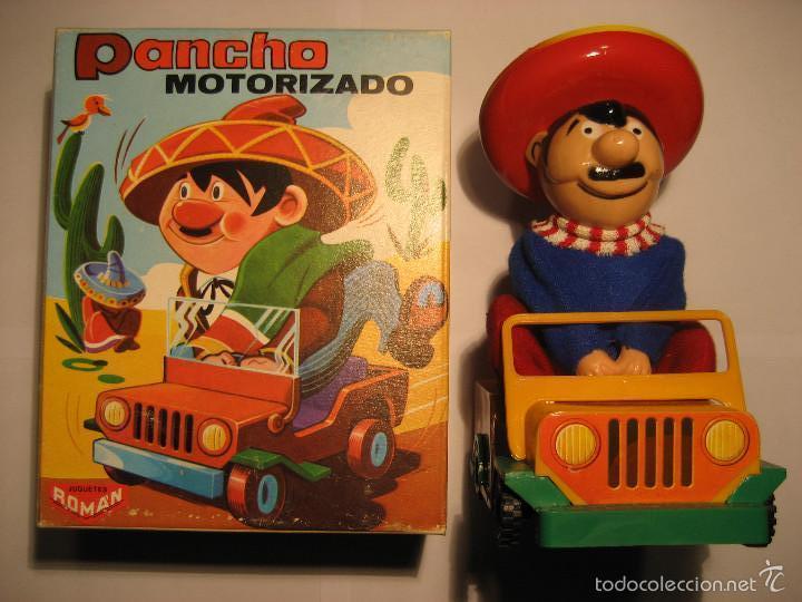 PANCHO DE ROMAN. MOTORIZADO. (EN CAJA ORIGINAL) (Juguetes - Marcas Clásicas - Román)