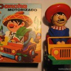 Brinquedos antigos Román: PANCHO DE ROMAN. MOTORIZADO. (EN CAJA ORIGINAL). Lote 143293538