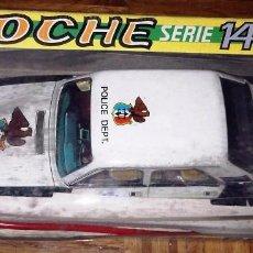 Altes Spielzeug Román - COCHE POLICIA POLICE PATROL ROMAN DIRIGIDO SERIE 1400 CON CABLE - 86625148