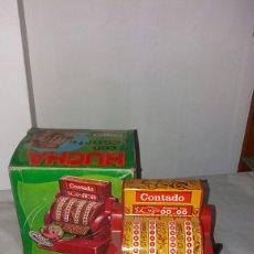 Juguetes antiguos Román: HUCHA CAJA REGISTRADORA ROMAN. Lote 97944271