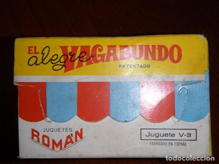 Juguetes antiguos Román: JUGUETE MUÑECO CUERDA EL VAGABUNDO DE ROMÁN CHARLES CHAPLIN - Foto 6 - 98629455