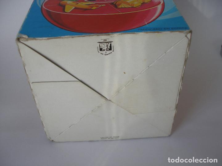 Juguetes antiguos Román: Caja vacía hucha con resorte Román serie Mágicos resortes años 70 - Foto 4 - 103675675