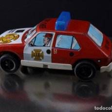 COCHE METALICO FIRE CHIEF SALVA OBSTACULOS, SERIE 2050