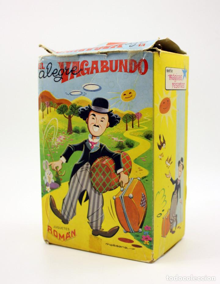 Juguetes antiguos Román: CHARLOT EL ALEGRE VAGABUNDO - JUGETES ROMAN - EN SU CAJA ORIGINAL - FUNCIONANDO - AÑOS 60 - Foto 7 - 137262793