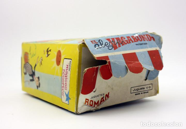 Juguetes antiguos Román: CHARLOT EL ALEGRE VAGABUNDO - JUGETES ROMAN - EN SU CAJA ORIGINAL - FUNCIONANDO - AÑOS 60 - Foto 9 - 137262793