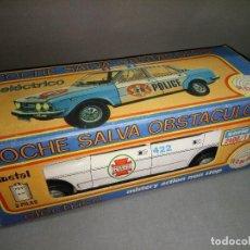 Juguetes antiguos Román: 18- SEAT 132 (SALVA OBSTACULOS ELECTRICO)REF 2400/1 ROMAN(METAL) 70/80 S NUEVO. Lote 113250835
