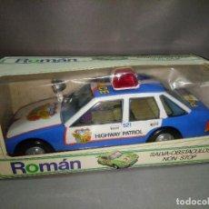 Juguetes antiguos Román: 18- ROMAN SALVA OBSTACULOS NON STOP (FORD SIERRA POLICIA) 80S NEW /VIEJO STOCK/2. Lote 114985003