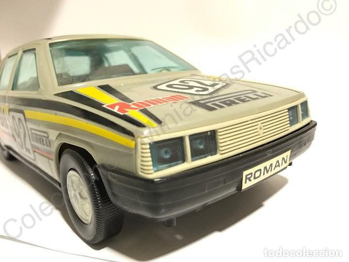 Juguetes antiguos Román: Coche Renault 11 de Roman - Made in Spain - antiguo Pirelli, rally Shell ,rallies , juguete, único, - Foto 2 - 121361911