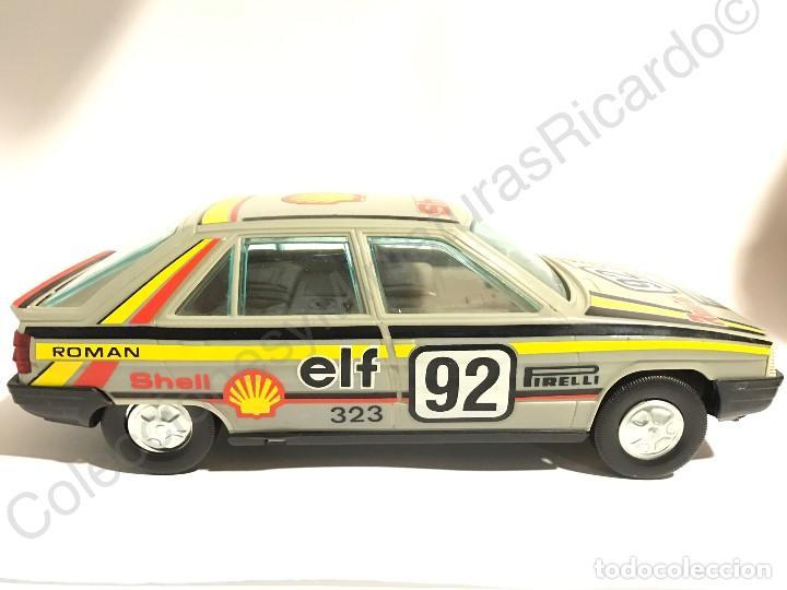 Juguetes antiguos Román: Coche Renault 11 de Roman - Made in Spain - antiguo Pirelli, rally Shell ,rallies , juguete, único, - Foto 3 - 121361911