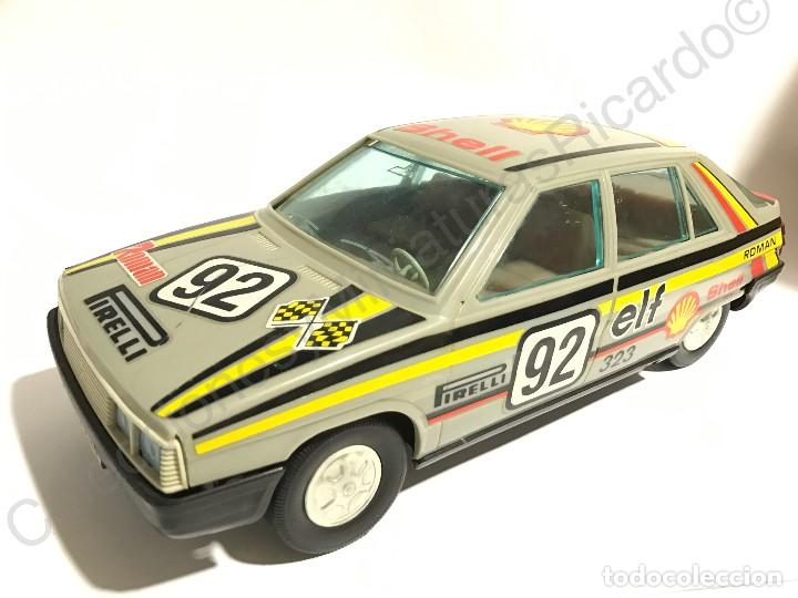 Juguetes antiguos Román: Coche Renault 11 de Roman - Made in Spain - antiguo Pirelli, rally Shell ,rallies , juguete, único, - Foto 6 - 121361911