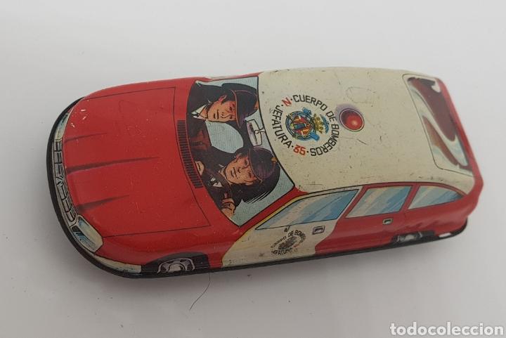 COCHE DE BOMBEROS DE CHAPA.ROMÁN - CAR110 (Juguetes - Marcas Clásicas - Román)
