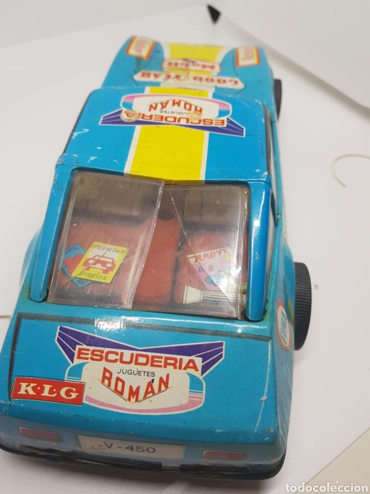 Juguetes antiguos Román: Juguetes Román - .Rallye de Montecarlo - Latón,hojalata. - car110 - Foto 4 - 134445518