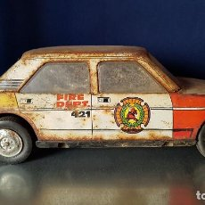 Altes Spielzeug Román - coche de bomberos, ROMAN Fire Chief - 139452354