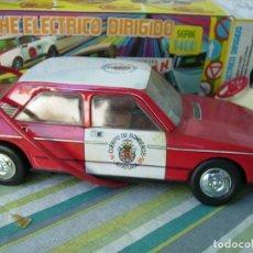 Juguetes antiguos Román - coche de bomberos teledirigido sin utilizar en caja original años 70 de roman - 142910014