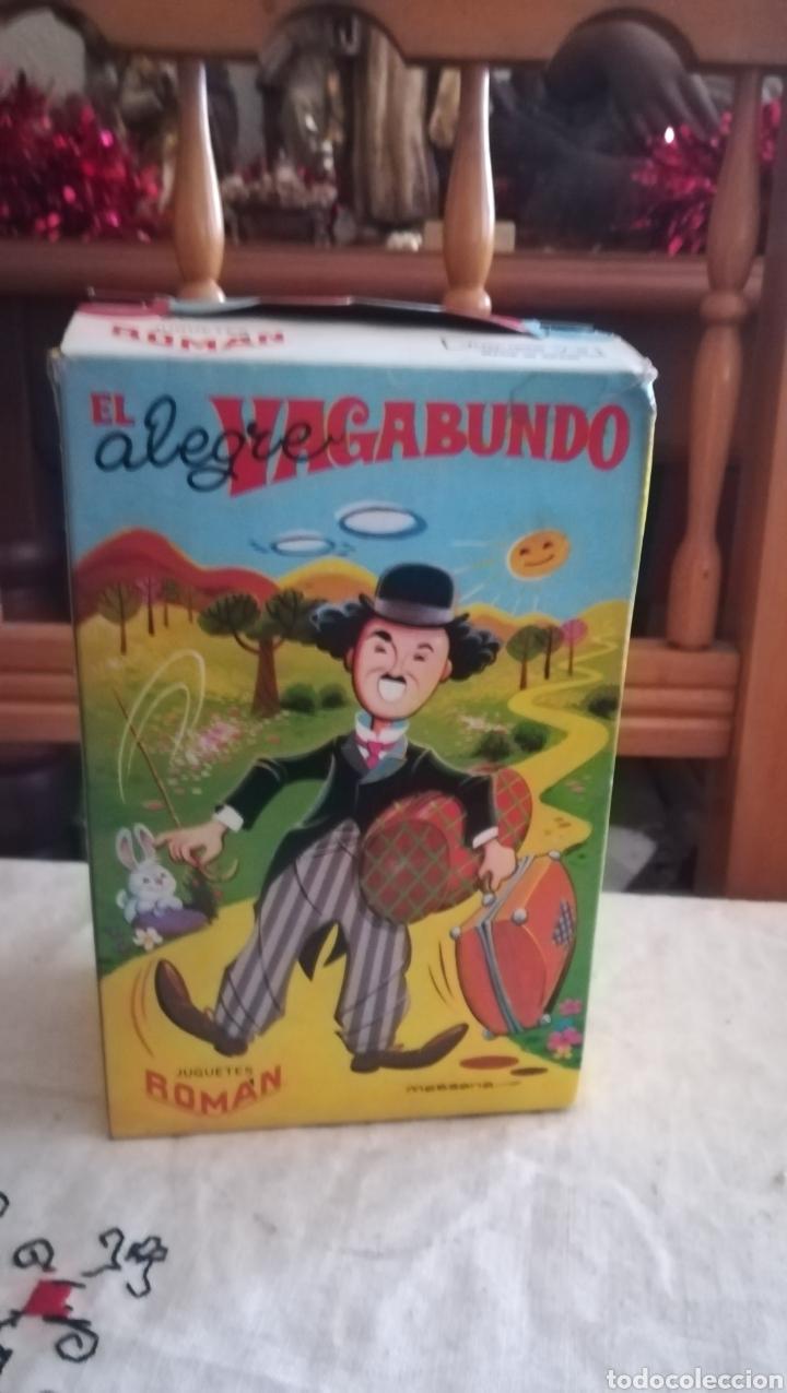 EL ALEGRE VAGABUNDO, JUGUETE ANTIGUO A CUERDA DE ROMAN (Juguetes - Marcas Clásicas - Román)