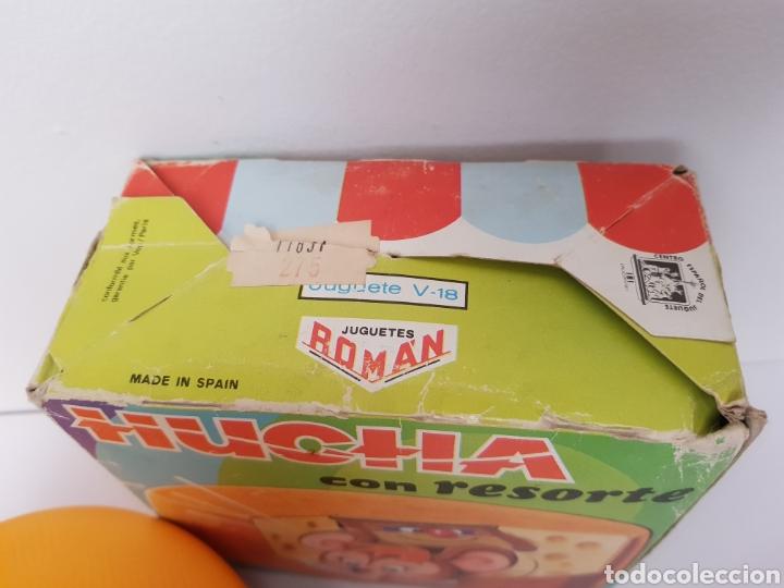 Juguetes antiguos Román: HUCHA CON RESORTE - ROMÁN - años 70 en caja funcionando. - Foto 4 - 145298538
