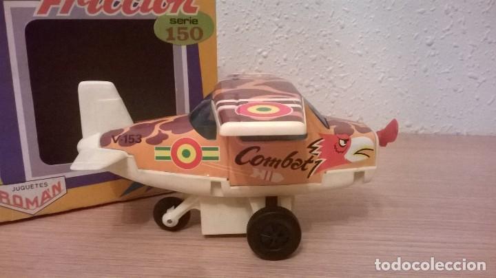 Juguetes antiguos Román: Roman avion a friccion - Foto 4 - 146017330