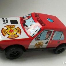 Altes Spielzeug Román - Coche bomberos Román, de chapa. - 147288886