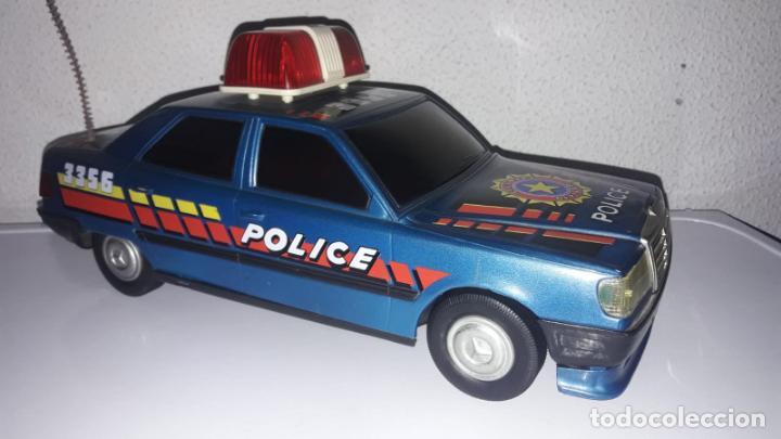 COCHE POLICÍA POLICE SALVAOBSTACULOS DE ROMAN MADE IN SPAIN CG (Juguetes - Marcas Clásicas - Román)