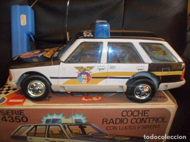 Juguetes antiguos Román: COCHE POLICIA JUGUETES ROMÁN SERIE 4350 - EN CAJA, FUNCIONANDO, SIN DEFECTOS- RADIO CONTROL LUCES Y - Foto 6 - 155671006