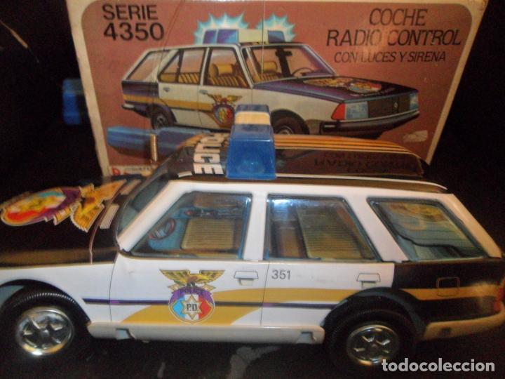 Juguetes antiguos Román: COCHE POLICIA JUGUETES ROMÁN SERIE 4350 - EN CAJA, FUNCIONANDO, SIN DEFECTOS- RADIO CONTROL LUCES Y - Foto 9 - 155671006