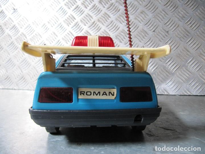 Juguetes antiguos Román: ROMAN COCHE POLICIA LOTUS TURBO SPIRIT SALVA OBSTACULOS DE ROMAN JUGUETES - Foto 7 - 159758350