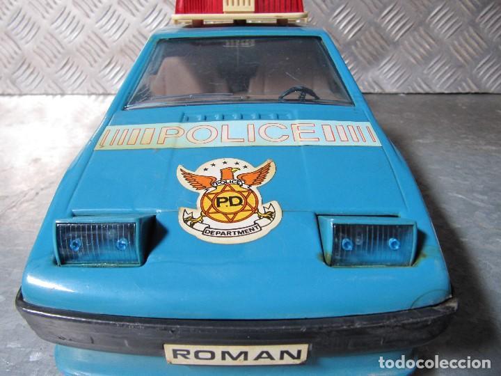 Juguetes antiguos Román: ROMAN COCHE POLICIA LOTUS TURBO SPIRIT SALVA OBSTACULOS DE ROMAN JUGUETES - Foto 11 - 159758350