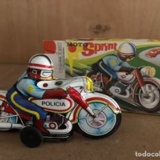 Juguetes antiguos Román - Moto chapa 1960 marca ROMAN - 161604550